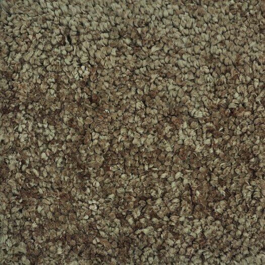 Loloi Rugs Hera Mocha Brown/Tan Solid Area Rug