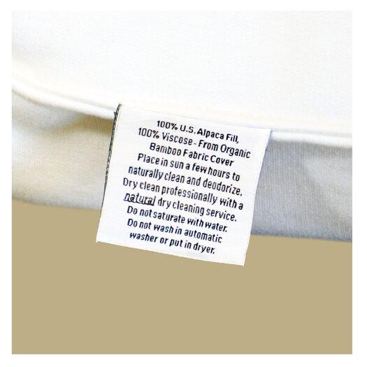 Malpaca Alpaca Light Filled Pillow