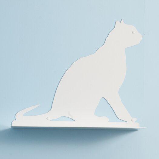 """The Refined Feline 20"""" Silhouette Gaze Cat Perch"""