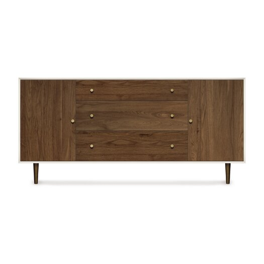 Copeland Furniture Mimo 2 Door and 3 Drawer Dresser