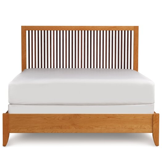 Dominion Panel Bed with Spindle Headboard