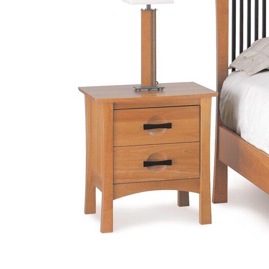 Copeland Furniture Berkeley 2 Drawer Nightstand