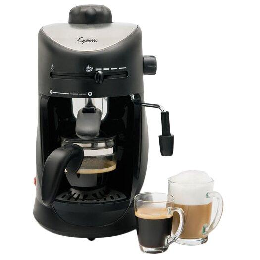 Capresso 4 Cup Espresso & Cappuccino Machine