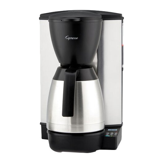 Capresso 10-Cup Programmable Coffee Maker with Stainless-Steel Thermal Carafe