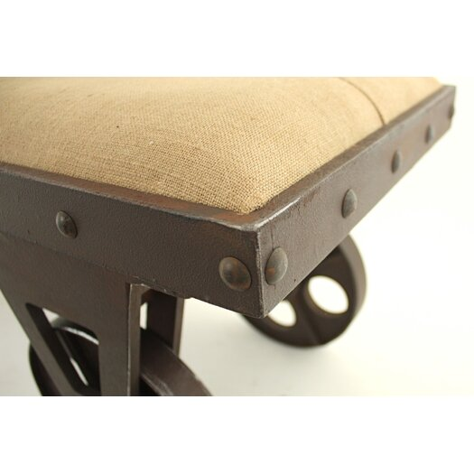 Aspire Bolton Upholstered Entryway Bench