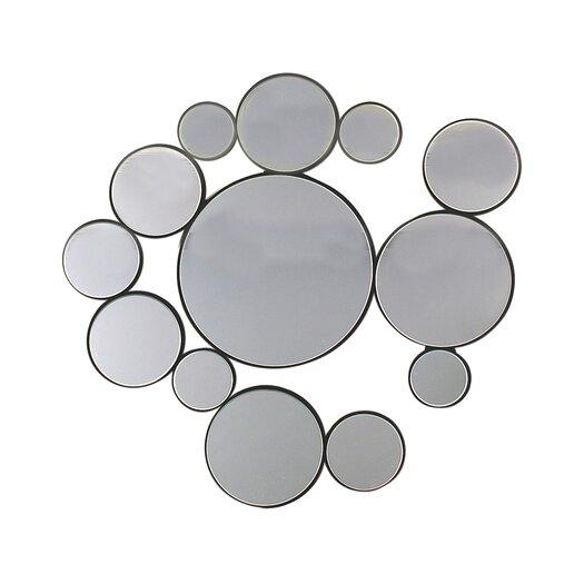 Ashton Sutton Circles Wall Mirror I