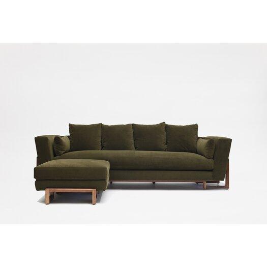 LRG Sofa with Ottoman