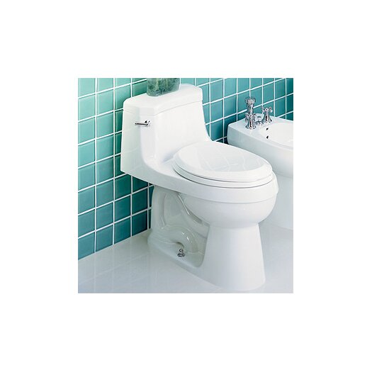 St Thomas Creations Palermo Chair-Height 1.28 GPF Elongated 1 Piece Toilet