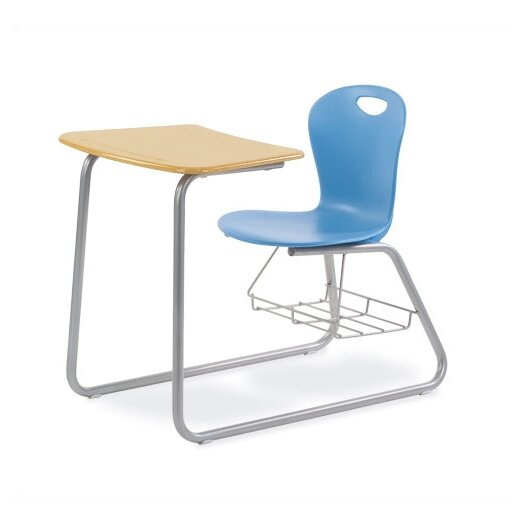 "Virco Zuma 33"" Plastic Chair Desk"