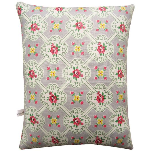 Artgoodies Rooster Block Print Squillow Accent Cotton Throw Pillow