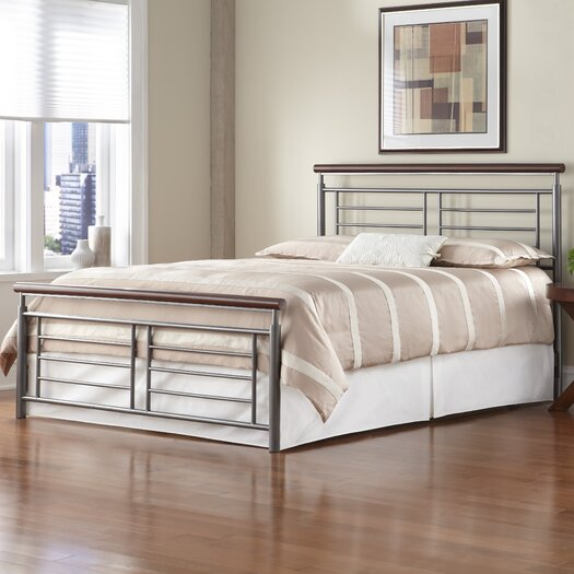 Fashion Bed Group Fontane Metal Panel Bed