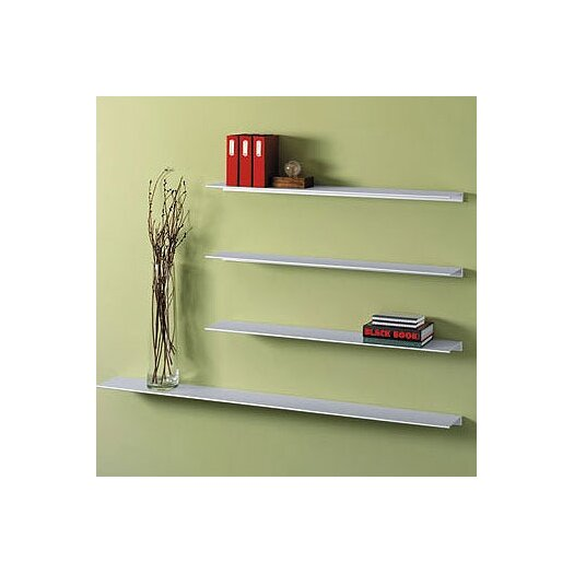 Peter Pepper Envision® Aluminum Floating Wall Shelf