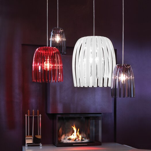 Koziol Josephine 1 Light Bowl Pendant
