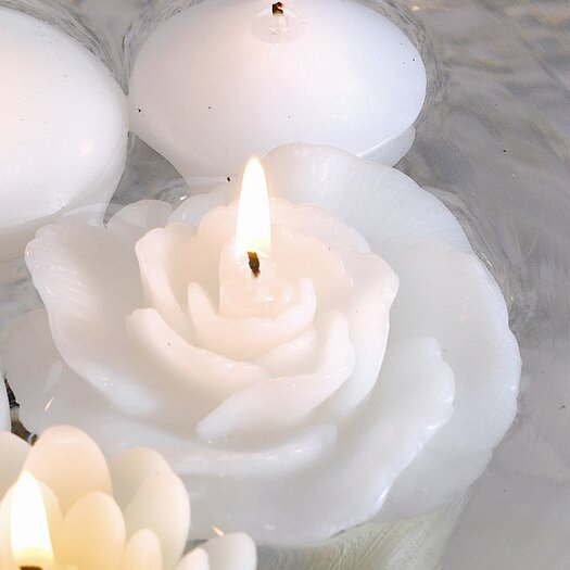 Biedermann and Sons New Rose Floating Candles