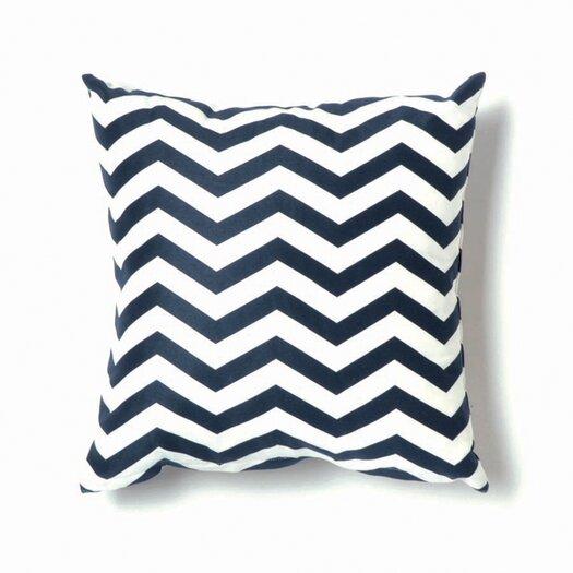 ZigZag Cotton Throw Pillow