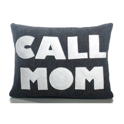 Throw Pillow Advice : Alexandra Ferguson Good Advice Call Mom Throw Pillow AllModern