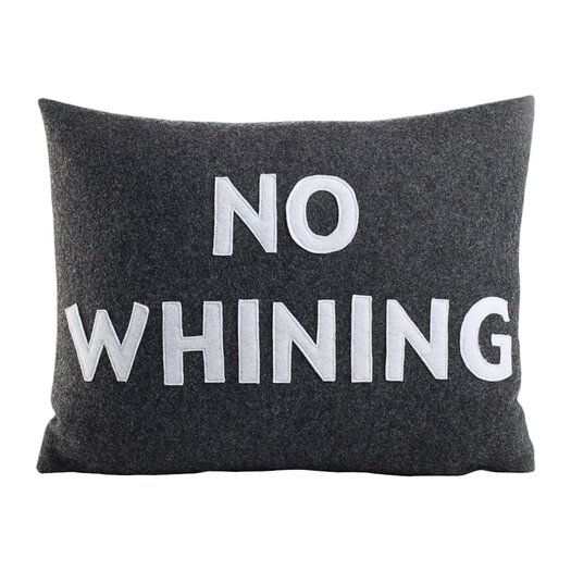 Alexandra Ferguson House Rules No Whining Throw Pillow