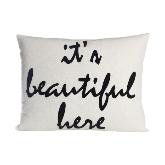 Alexandra Ferguson Celebrate Everyday It's Beautiful Here Throw Pillow