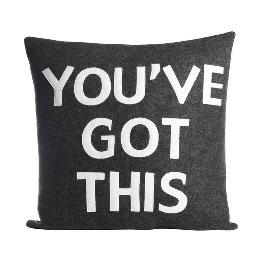 Alexandra Ferguson Zen Master You've Got This Throw Pillow