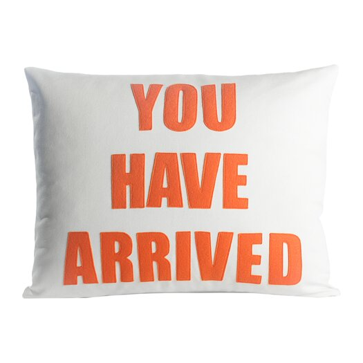 Zen Master You Have Arrived Throw Pillow