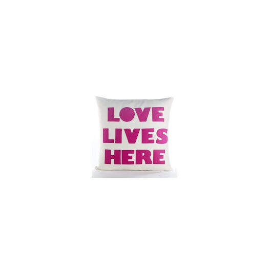 Celebrate Everyday Love Lives Here Throw Pillow