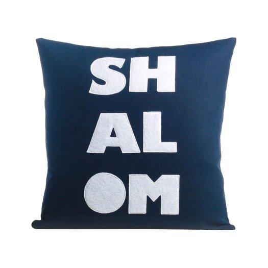Shalom Organic Throw Pillow