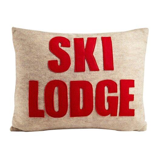 Alexandra Ferguson Weekend Getaway Ski Lodge Lumbar Pillow