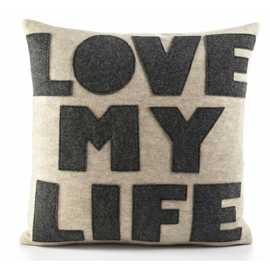 Love Life Throw Pillow : Alexandra Ferguson Celebrate Everyday Love My Life Decorative Throw Pillow AllModern