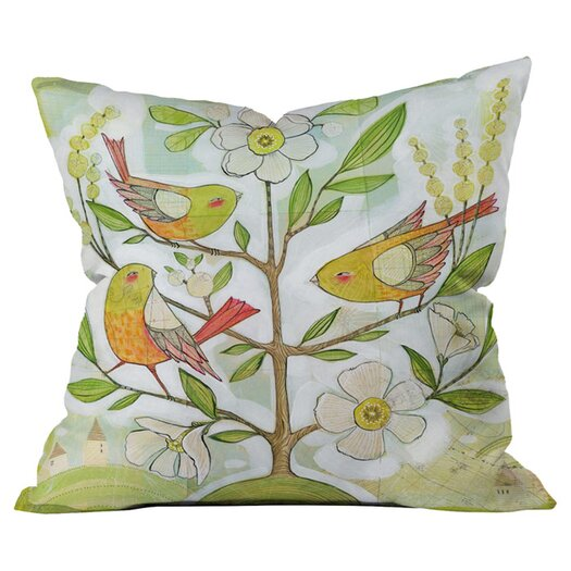 DENY Designs Cori Dantini Community Tree Throw Pillow