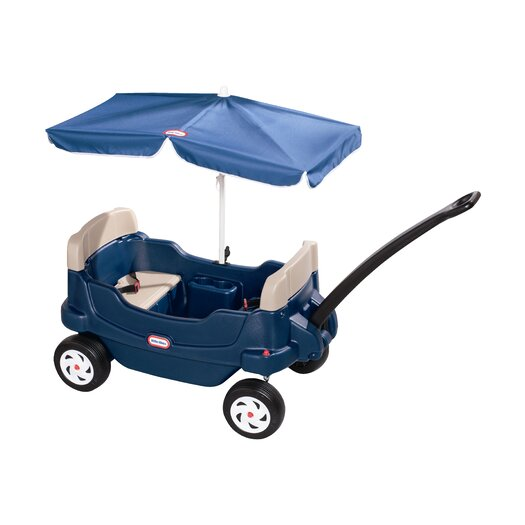 Little Tikes Cozy Cruisin' Wagon Ride-On with Umbrella