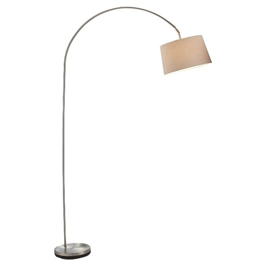 "Adesso Henry 83"" Arched Floor Lamp"
