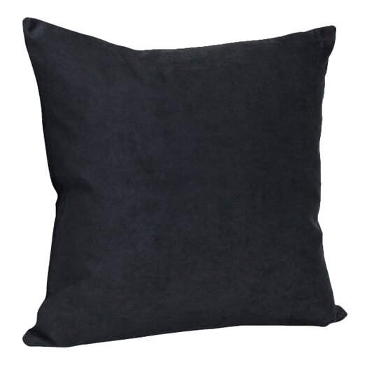 Deluxe Comfort Decorative Faux Suede Throw Pillow