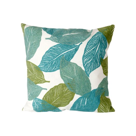 Liora Manne Mystic Leaf Indoor/Outdoor Throw Pillow