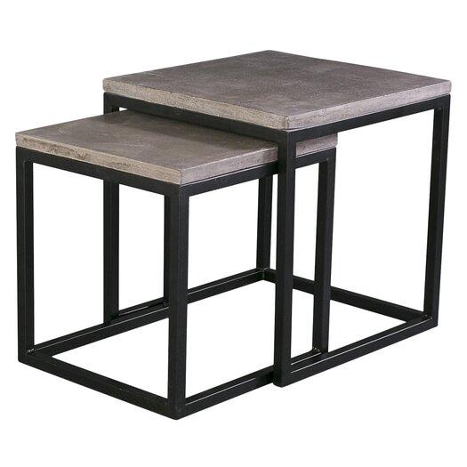 Mixx 2 Piece Nesting Table Set