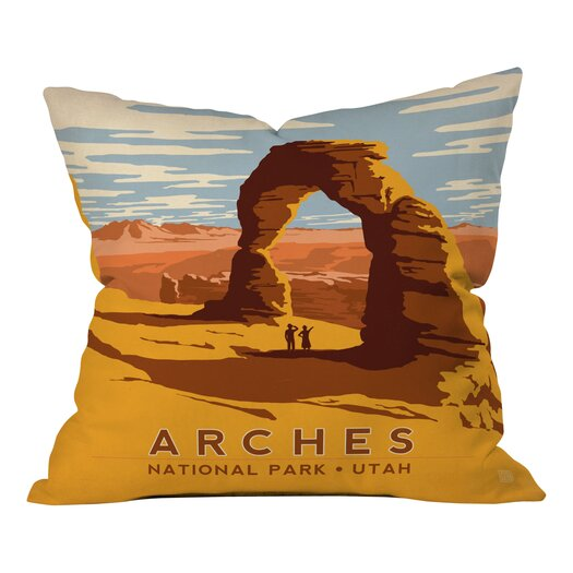 DENY Designs Anderson Design Group Arches Throw Pillo