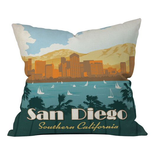 DENY Designs Anderson Design Group San Diego Throw Pillow