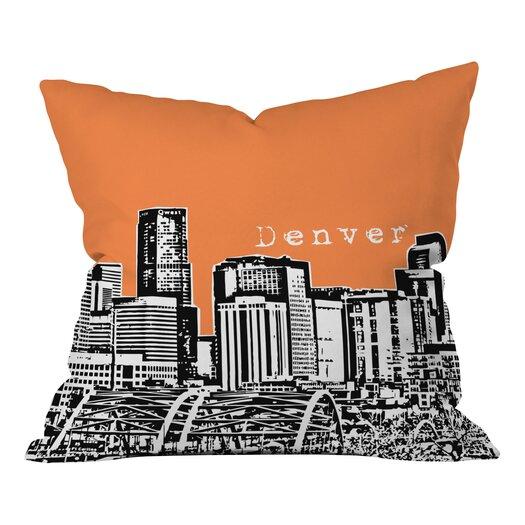 DENY Designs Bird Ave Denver Throw Pillow