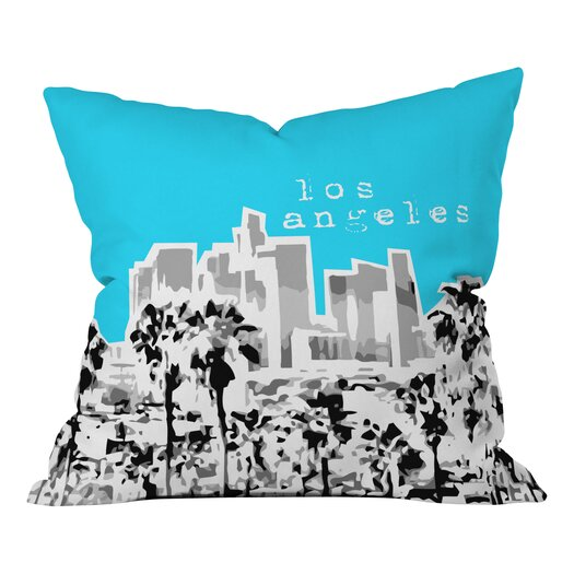 DENY Designs Bird Ave Los Angeles Throw Pillow