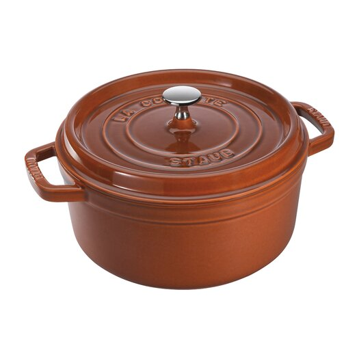 Staub Cast Iron Round Cocotte with Lid