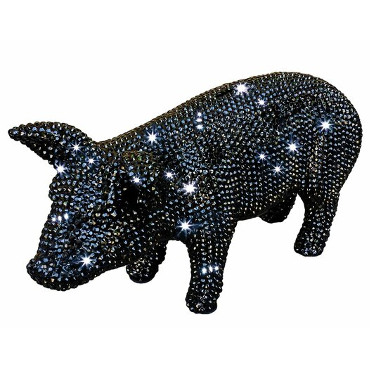 Am studio graphite rhinestone piggy bank allmodern - Rhinestone piggy bank ...