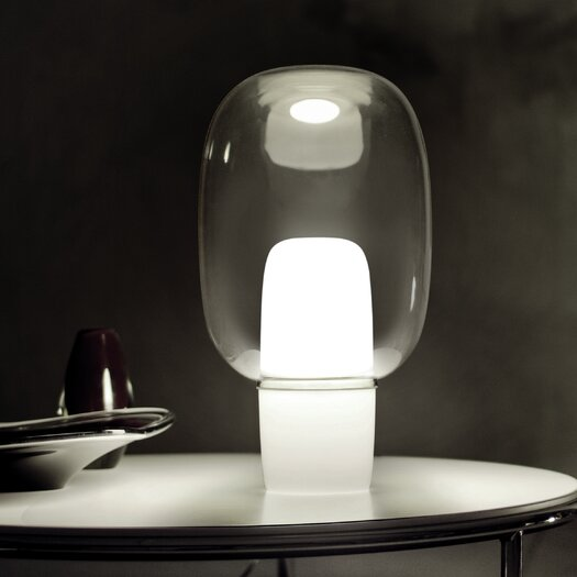 "Foscarini Yoko 16.13"" H Table Lamp with Sphere Shade"
