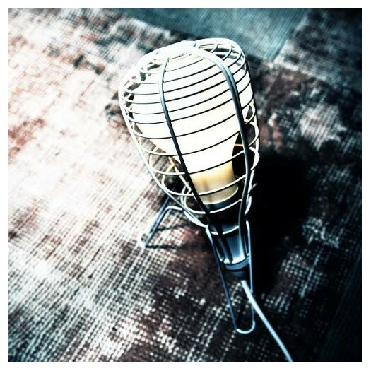 """Foscarini Diesel Cage Rocket 12.97"""" H Table Lamp with Novelty Shade"""