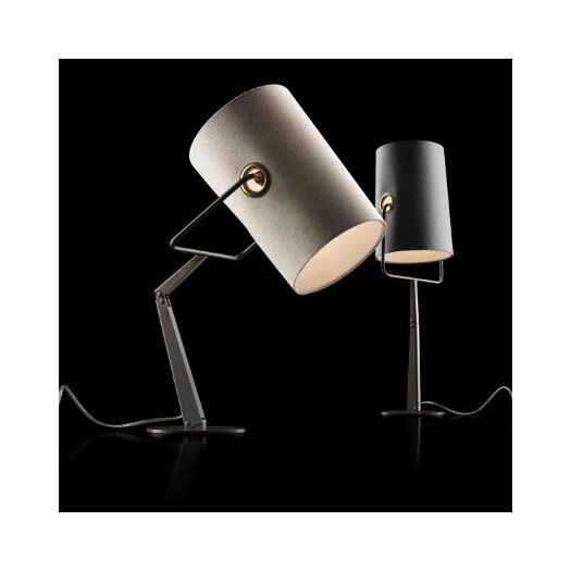 """Foscarini Diesel Fork 24.63"""" H Table Lamp with Drum Shade"""