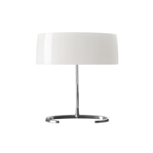 "Foscarini Esa Piccola 12"" H Table Lamp with Drum Shade"