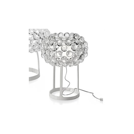 """Foscarini Caboche 15"""" H Table Lamp with Sphere Shade"""
