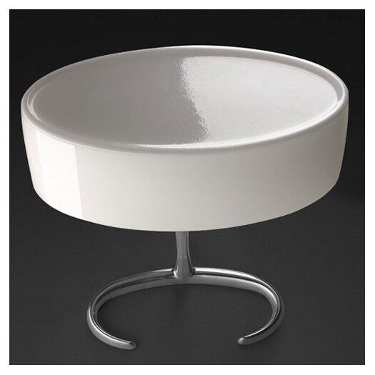 "Foscarini Esa 18.5"" H Table Lamp with Drum Shade"