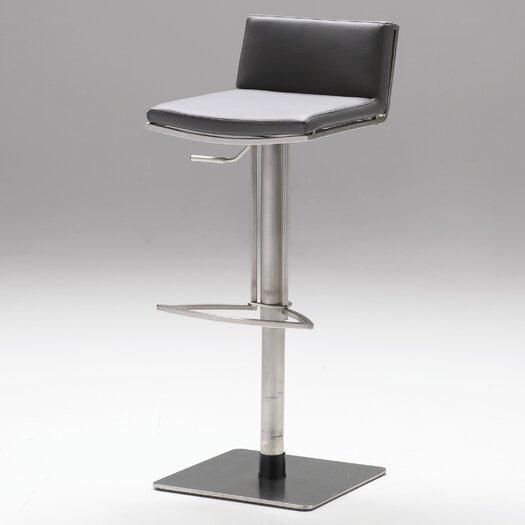 Bond Adjustable Height Swivel Bar Stool with Cushion