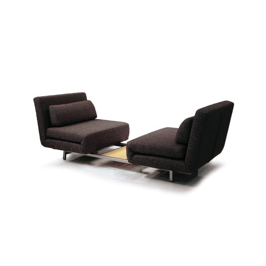 Mobital Iso Double Convertible Sofa with Single Swivel Chairs