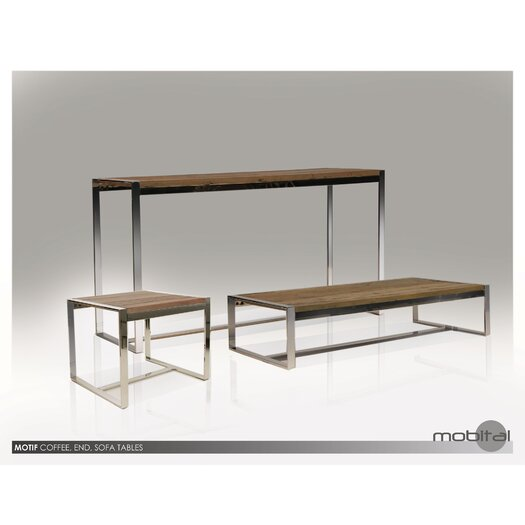 Motif Reclaimed Elm Wood Coffee Table