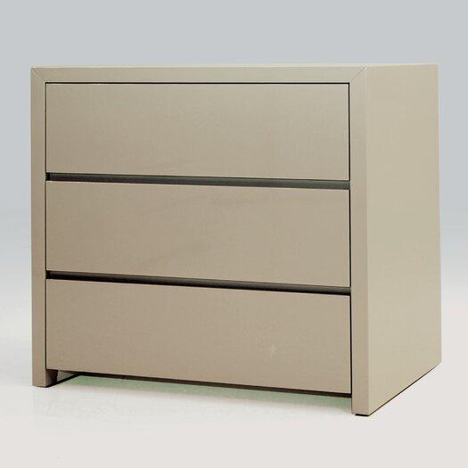Blanche 3 Drawer Half Dresser (Set of 2)